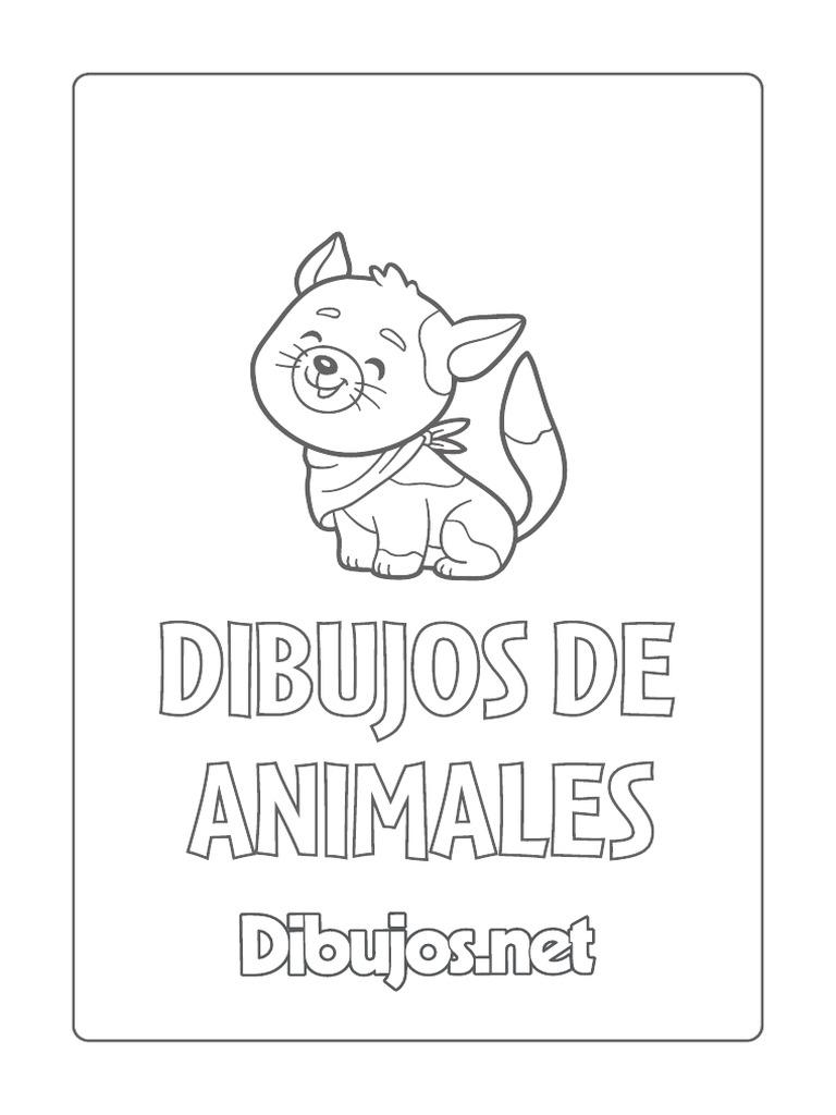 Dibujos De Animales Para Colorear Pdf