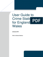 User Guide to Crime Statistics for England and Wales