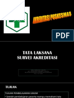 Tata Laksana Survei (Pendamping)