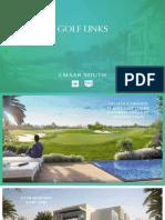 Golf Links Villas Emaar South Dubai +971 4553 8725
