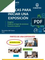 S11-Técnicas Para Iniciar Una Exposición- HHCCI- 2017-I