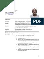 Cv Ibrahim p a Ouedraogo