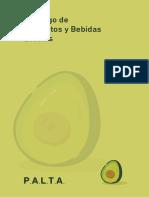 Catálogo de Alimentos y Bebidas - Aceleradora PALTA