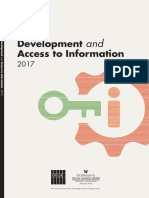 Development and Access to Information Da2i 2017 Full Report