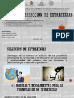 Exposcion_unidad IV __selección de Estrategias