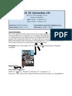 eporfolio syllabus sample