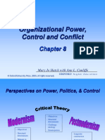 Power Conflict Mary Jo Hatchch