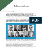 El Futuro de La Educación en Uruguay. PEDAGOGIA