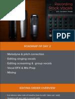 Recording Rock Vocals Presentation Day 1