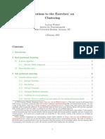 Clustering SolutionsPublic