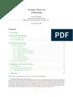 Clustering LectureNotesPublic