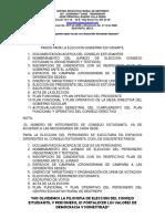 FORMATOS PERSONERO 2015