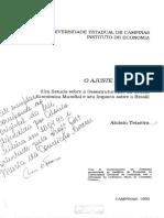 Aloisio Teixeira_Um Estudo Sbore a Desestruturação Da Ordem Economica Mundial e o Brasil_TESE