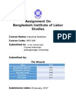 Bangladesh Institute of Labor Studies – BILS
