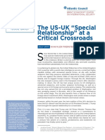 "The US-UK ""Special Relationship"" at a Critical Crossroads"