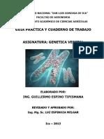 Caratula Cuaderno de Trabajo Genetica Ok PDF