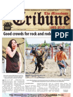 Front Page - August 8, 2010