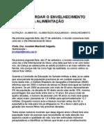Jocelem Mastrodi Salgado - Como retardar o envelhecimento através da alimentação - prevenção