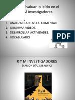 Contextualizacion r y m Investigadores