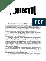met. proiectului ~