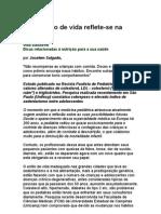 Jocelem Mastrodi Salgado - Atual estilo de vida reflete-se na pediatria - nutrição