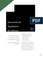 Documento de Arquitectura