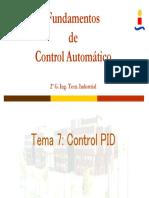 t7 Control Pid