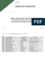 Listas Não Manutenção de DCE - actualizacao