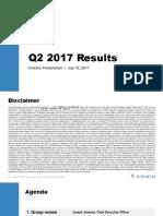 Novartis Q2 2017 IR Presentation