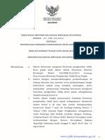 Undang-Undang PTKP Baru No 101-PMK.010-2016