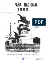 Campaña Nacional de 1885. Rafael Meza