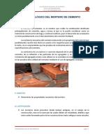 Estudio Tecnológico Del Mortero de Cemento