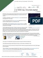 India Shines Brighter on NASA Map, China Feels Slighted