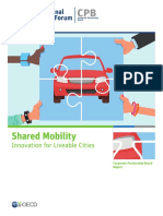 Shared Mobility Liveable Cities