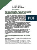 Nuno Cobra - Entrevista - Preparador físico e mental - MBC Movimento Brasil Competitivo