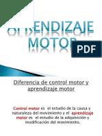 Aprendizaje Motor ppt