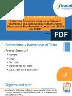 COM-Prod 5E Presentacion FINAL Taller Socializacion Estrategia de Comunicación.pdf