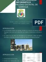 Plan de Contingencia Samegua - Grupo 7
