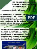 La Planta Geotérmica, Tipos Básicos Sus Componentes y Su Distribucion