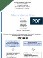 Diapositivas de Controles, Medidores de Nivel