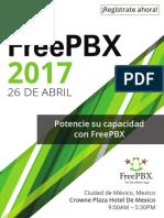 Dia FreePBX Conference Agenda Spanish