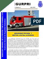 Seguridad Privada y Sector Contra Incendios