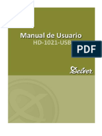 Manual Hd1021usb