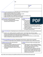 coaching tool  professional development planning template - google docs