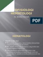 PATOFISIOLOGI HEMATOLOGI 2017