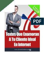 Textos Que Enamoran A Tu Cliente Ideal En Internet