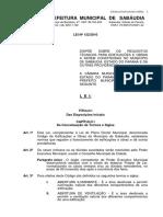 040316111347 Lei Nordm 1322010 Codigo de Obras Sabaudia PDF