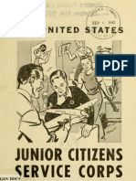 (1943) United States Junior Citizens Service Corps