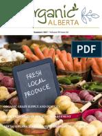 Summer 2017 Organic Alberta Magazine