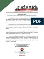 Comité Central - Apoyo a Venezuela y Constituyente - 21jul2017